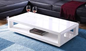 white high gloss coffee table from aed
