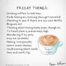 sweatpants coffee on friday things coffee