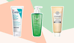 the best face cleansers to use with