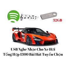 USB Nghe Nhạc Cho Xe Hơi Tổng Hợp 1300 Bài Hát Tuyển Chọn 32G ...