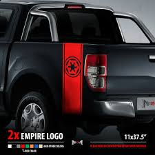 2x Empire Logo Stripes Fender Set Star Wars Dark Side Car Vinyl Sticker Decal 33 50 Picclick