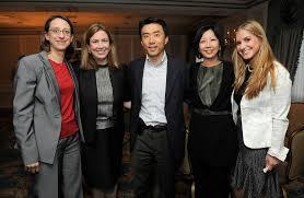 David Eun, Trish Primrose, Rochelle Yu, Amanda Feinberg, Julie Jacobs -  Rochelle Yu and Julie Jacobs Photos - Zimbio