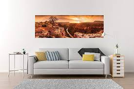 Grand Canyon Panoramic Sunset View Hd Vinyl Wall Decal Sticker Picture