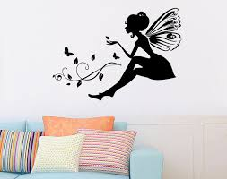 Custom Flower Fairy Wall Stickers Living Room Girl S Room Nursery Decor Pvc Vinyl Transfer Film Butterfly Wall Decals Buy 3d Butterfly Sticker Wall Wall Stickers Girl Wall Stickers Kids Bedroom Product On Alibaba Com