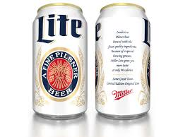 miller lite s frothy yellow ad miscue