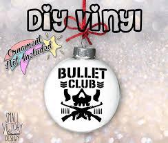 Bullet Club Decal Custom Vinyl Diy Custom Ornamentsholiday Etsy