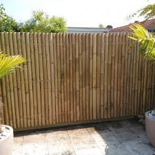 Bamboo Fence Panel Giant 180 X 120 Cm
