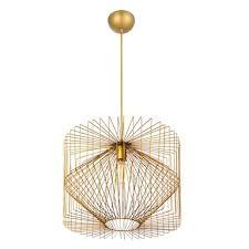 home design gold vogue pendant light