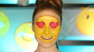 halloween makeup ideas emojis