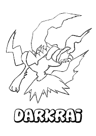 Best Free Mega Yveltal Pokemon Coloring Pages Image Kids