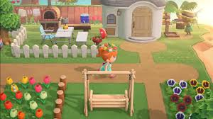 Has Anyone Seen This White Fence From The Official Trailer Of Acnh I Can T Seem To Find It Anywhere Animalcrossing