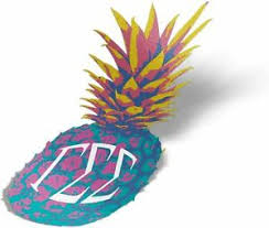 Gamma Sigma Sigma Pop Art Pineapple Sticker 5 Inch Tall Ebay