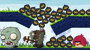 Angry Birds Fried Zombies - TAKE THE TNT BOMB AND KICK IT TO BURN ...