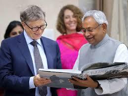 Bill Gates: Bill Gates praises Bihar government, says state has ...