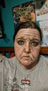 old lady makeup cosplay amino