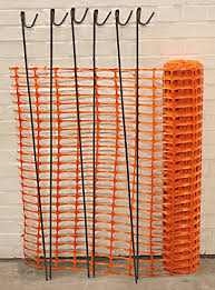 Amazon Com Orange Plastic Fencing Mesh 1mx50m Plus 10 Fencing Pins 5 5kg Roll 110g M2 Barrier Fencing Mesh For Construction Site Safety Building Sites Garden Fences Sports Events Barricades Dog And Pet Areas Manufactured