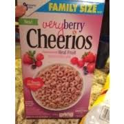 cheerios very berry cheerios calories