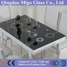 china tempered glass table top