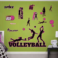 Fathead Volleyball Peel And Stick Wall Decal Wayfair