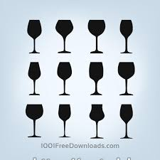 vector glasses shapes vector free