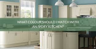 match with an ivory kitchen