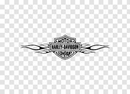 Harley Davidson Motorcycle Sticker Logo Wall Decal Symbol Class Album Transparent Png