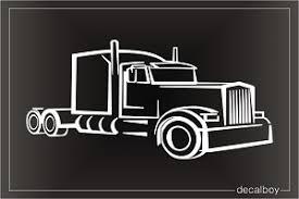 Semi Truck Decals Stickers Decalboy