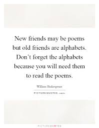 old friends poems com