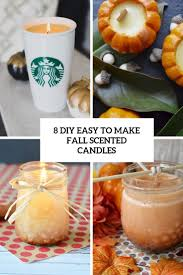 8 diy easy to make fall scented candles