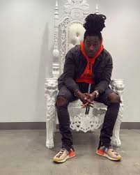 Sneakers Adidas x Pharell NMD HU brought by Ace Hood on the account  Instagram of @acehood | Spotern