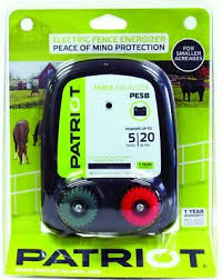 Patriot Pe5b Battery Powered Electric Fence Charger Energizer 5 Miles 20 Acres Ebay