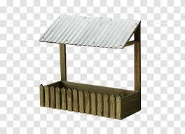White Brick Roof Japanese Sheds Fences Transparent Png