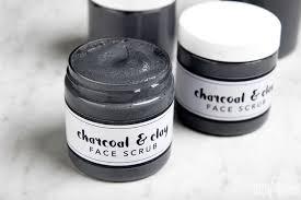 cleansing charcoal scrub diy