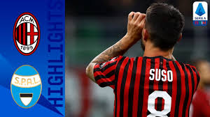 Milan 1-0 SPAL | Suso Strike Seals Victory For Milan