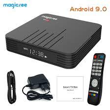 Magicsee N5 Max Android TV Box 4GB RAM 64GB ROM Amlogic S905x3 ...