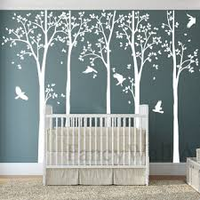 The 3 Treestickers White Birch Tree Wall Decals Birch Trees Wall Decal Removable Cacak Trondola934