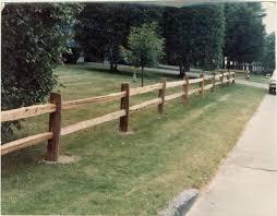Rail Fences Gallery Main Line Fence