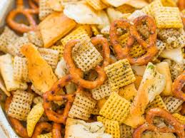 5 minute dill pickle chex mix recipe