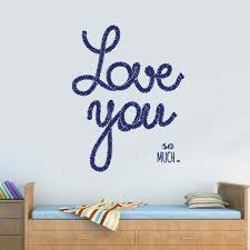 Wall Vinyl Decal Sticker Decal Words Sign Quote Love Much Sea Marine R Stickersforlife