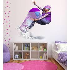 Shop Full Color Snowboard Girl Full Color Decal Full Color Sticker Colored Snowboard Sticker Decal Size 33x33 Frst Overstock 15943632