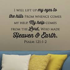 Heaven And Earth Wall Quotes Decal Wallquotes Com