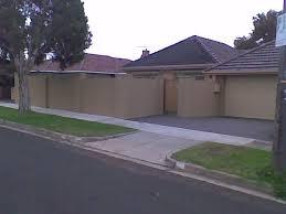 Tall Front Boundary Fences A Good Idea A New House