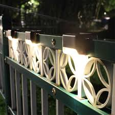 4 12pcs Led Solar Stairs Lights Outdoor Waterproof Garden Pathway Courtyard Patio Steps Fence Lamps Solar Wall Landscape Lamp Path Lights Aliexpress