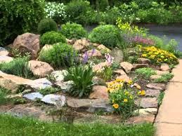 four easy rock garden design ideas with