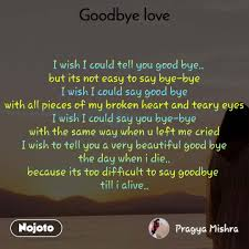 new quotes on good bye status photo video nojoto