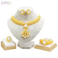 2020 liffly luxury dubai gold jewelry