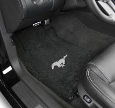easy ford mustang seat covers pony logo