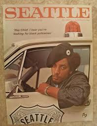 1968 Seattle Magazine Black Panther Party Captain Aaron Dixon Black History  | #456721227