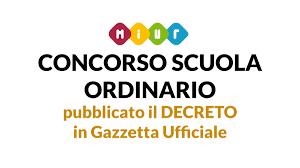 Concorso scuola ordinario 2020, Decreto in Gazzetta Ufficiale ...