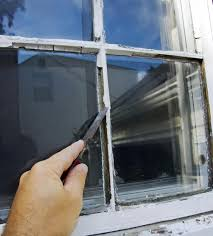 fix a broken window and its screen